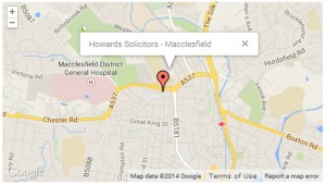 Howards-Solicitors-Macclesfield-Map