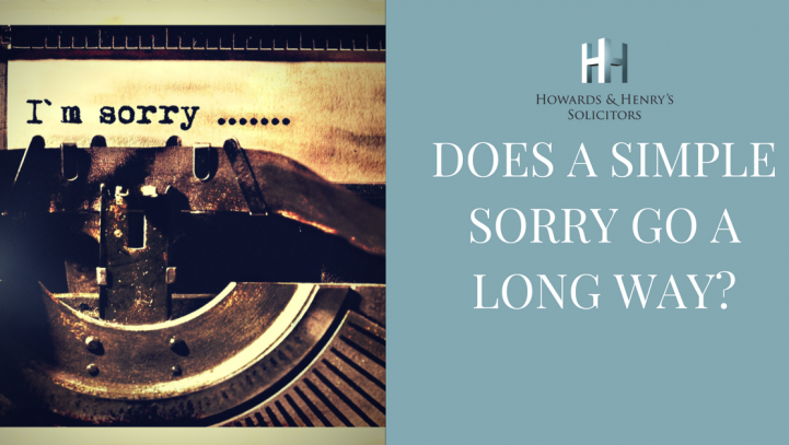 Sorry, seems to be the hardest word….